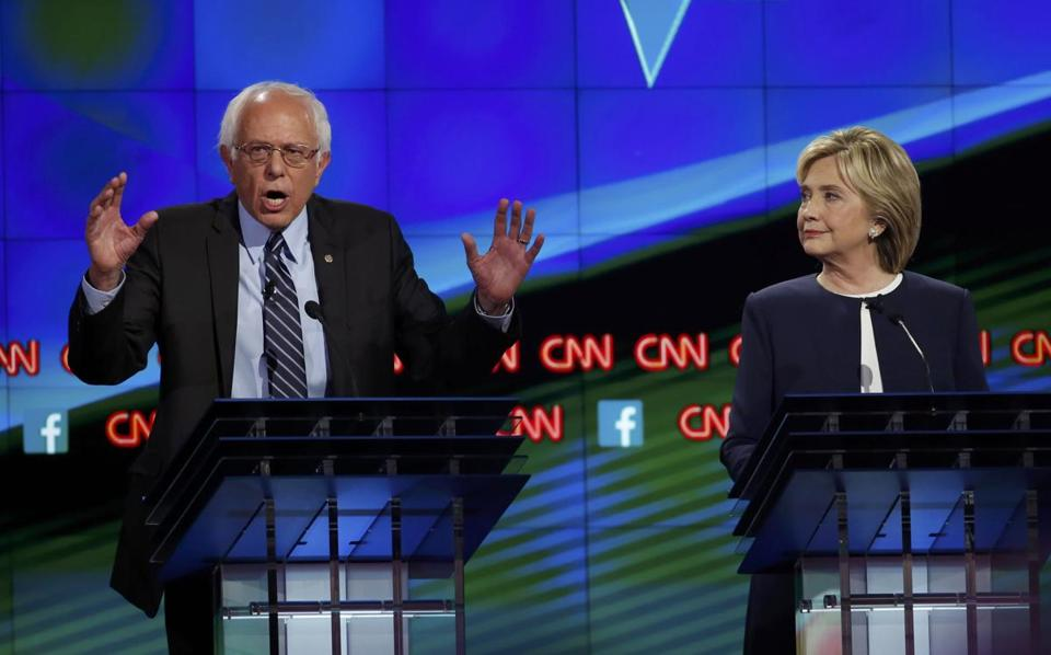 """The American people are sick and tired of hearing about your damn e-mails!"" Bernie Sanders received roaring applause from the audience for this debate line, but the comment proved to boost Hillary Clinton, who hasn't heard much about her inbox since."